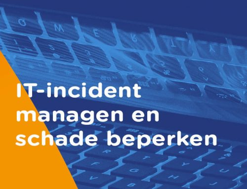 IT incident management: alarm, communicatie, registratie