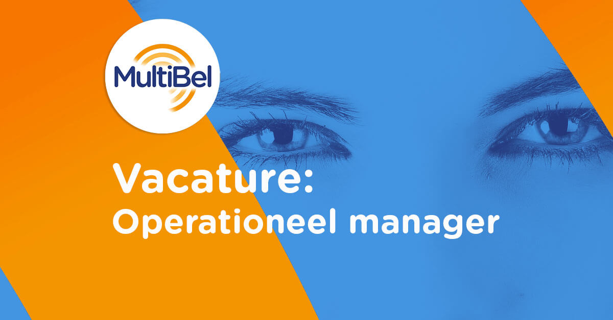 Vacature Operationeel Manager